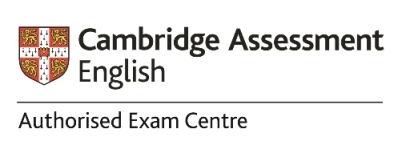 Authorised exam centre logo